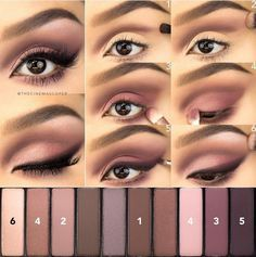 rosey smokey eye #tutorial #eotd #makeuplover