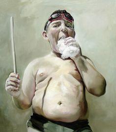 "Saatchi Art Artist Anca Danila; Painting, ""Infant obesity"" #art"
