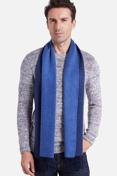 This stylish and simple cashmere scarf by Ovcio is made with pure cashmere. Enjoy the coziness and warmth from nature. scarf scarf him Mens Cashmere Scarf, Baby Kittens, Scarves, Navy Blue, Knitting, Stylish, Simple, Colors, Nature