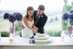 Matrimonio bucolico con peonie e lavanda