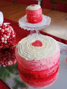 red ombre cake - Google Search