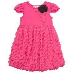 Eyelash Ruffle Dress