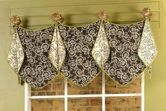 Custom made to order Valance using your fabric by CharmedInteriors, $120.00