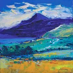 Evening Light on Ben Talla, Mull (Open Edition Print)