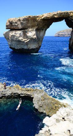 Azure Window - Mediterranean Sea, Malta by Joy! So peaceful!