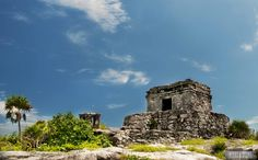 Ruins in Tulum, Mexico via Beers & Beans
