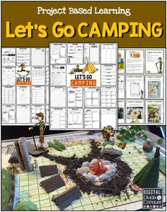 Let's Go Camping!  A Project Based Learning Activity where kids plan a trip to visit the outdoors.