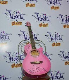 Guitarra Autografiada