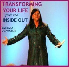 Find out how you may be sabotaging your success and happiness without realizing it. Read more here about how to shift and how you can receive my free audio workshop TRANSFORMING YOURSELF FROM THE INSIDE OUT : http://barbaradeangelis.com/soul-shifts/#about-soul-shifts