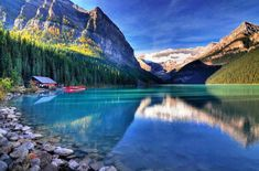 Lake Louise, Canada- follow me for more breathtaking places :)