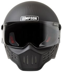 M30 Bandit Motorcycle Helmet: Simpson Race Products