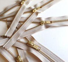 gold teeth zippers