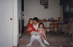 Lyuba, Dasha, Sanya at Middlefield 1997