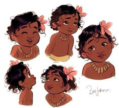 Baby Moana is the cutest