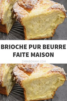 Brioche pure boter, zelfgemaakt - Apocalypse Now And Then Appetizers For Kids, Sweet Cooking, Cake & Co, Batch Cooking, Butter, Overnight Oats, Food Cravings, Bread Recipes, Banana Bread