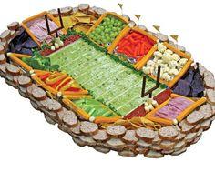 Football Food Ideas - Snackadium + 40 Easy Party Snacks