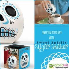 Sugar Shaker Sugar Skull :) We Love It!