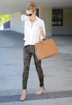 como usar una camisa blanca | ActitudFEM