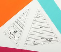 Learn how to use the EZ Tri-Recs triangle ruler set to make a triangle in a square quilt block with this quick and easy tutorial.