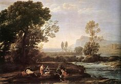 Claude Lorrain was a French artist best known for his ideal-landscape painting. This painting was Claude's first dated work; it was painted in 1629; it hangs in the Philadelphia Museum of Art. Claude's painting seems random, but actually has formality to it. The trees frame the picture and the figures in the right foreground are communicating with each other. Claude's style is special because he studied the light and the atmosphere of nature, like the Dutch painters, created unique…
