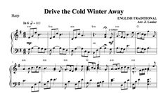 $3.00 Harp Music - Drive the Cold Winter Away for Harp