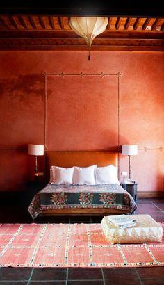 El Fenn in Marrakech, Morocco: sleek, chic and very boutique.