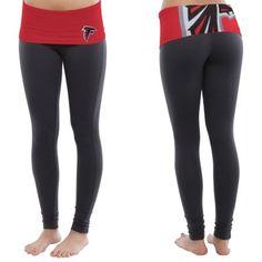 Women's Atlanta Falcons Nike Charcoal Women's Warpspeed Tights ...