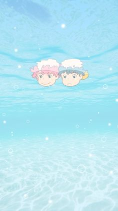 Sasuke and Ponyo Cartoon Wallpaper, Cute Anime Wallpaper, Wallpaper Iphone Cute, Studio Ghibli Art, Studio Ghibli Movies, Totoro, Animes Wallpapers, Cute Wallpapers, Studio Ghibli Background