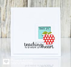 Stamping & Sharing: An Apple A Day