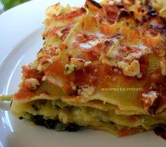 Greek Recipes, Veggie Recipes, Cookbook Recipes, Cooking Recipes, Macaroni Pie, Food Decoration, Lasagna, Easter Eggs, Food Processor Recipes