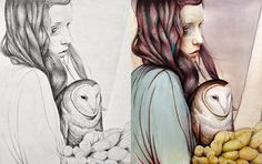 The Girl & the Owl by Michael Shapcott  www.Michael-Shapcott.com