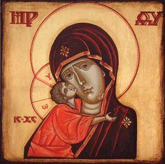 The Madonna with child. Gabriela Cioltan, http://www.gcioltan.net/icones/icones3_la_vierge.htm