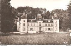Frankreich - AZE (71) Château d'Aisne - Colonie de Vacances de la Ville de Macon en 1954 CPSM PF