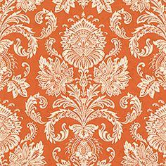 Orange Upholstery Fabric Modern Orange Purple Fabric By