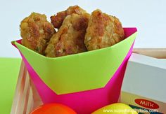 Chick-en Nuggets.  You'll love what we put in this kids favorite food!
