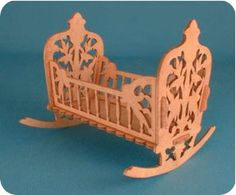 Doll cradle scroll saw pattern