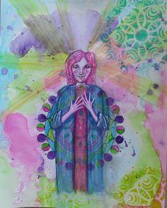 Inspired by Renata Loree - Lifebook 2016.  Artwork by Kim English
