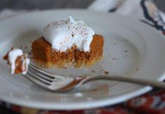 Pumpkin Pie Squares (Paleo, AIP)