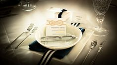 Sailor Knot Wedding Menu | Nautical theme by Pravda Events