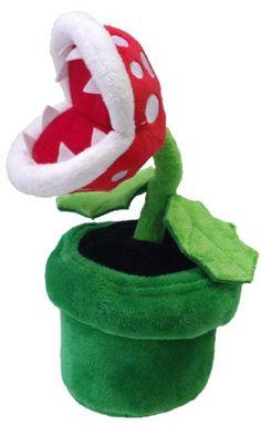 "Little Buddy Official Super Mario Plush - 9"" Piranha Plant Little Buddy http://smile.amazon.com/dp/B00DJG09S0/ref=cm_sw_r_pi_dp_bnBRub1WMVA2K"