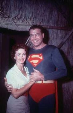 Noel Neill, the first actress to play Lois Lane, along with George Reeves, in the original Superman T. shows and movies. Action Comics 1, Dc Comics, Superman Lois, Superman Stuff, Original Superman, Comic Book Pages, Comic Books, George Reeves, Mole Man