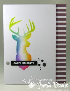 Stempel Spass: Muse Christmas Vision #41