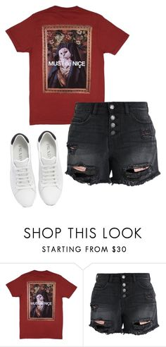 """""""outfit"""" by elzikaa on Polyvore featuring RIPNDIP, Noisy May and Prada"""