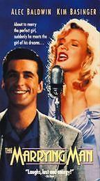 The Marrying Man (VHS, 1991) Kim Basinger