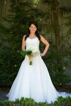 A recent, Classic Bride sooo beautiful! We love our Brides. www.ClassicBrideandFormals.com