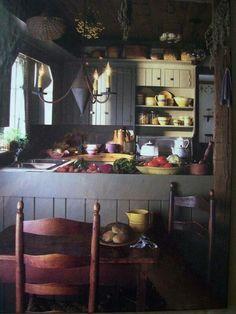 . primit pick, prim kitchen, prim pretti, primit kitchen, primit furnish, primitivecountryrust kitchen