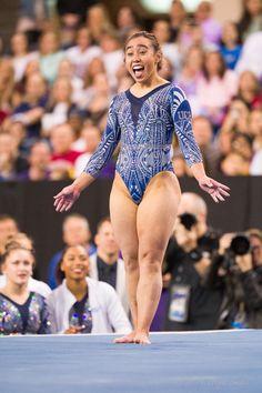 Gymnastics Poses, Amazing Gymnastics, Gymnastics Photography, Gymnastics Pictures, Sport Gymnastics, Artistic Gymnastics, Olympic Gymnastics, Acrobatic Gymnastics, Katelyn Ohashi