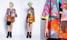 Kapock Coat, The Miraculous Mundane, Romance Was Born SS12/13 collection. http://www.theflyingroom.com/blogs/news/6433502-trendspotting-ss12-13-prints-down-under