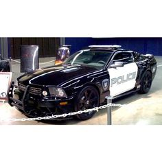 """Transformers """"Barricade"""" Saleen Mustang sold at auction for $36,000 ❤ liked on Polyvore featuring transformers"""