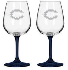 NFL 12.75-Ounce Wine Glass Set